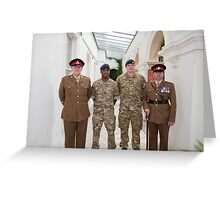 Armed Forces Day Bromley Kent Greeting Card