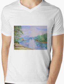 Apalachicola River Mens V-Neck T-Shirt