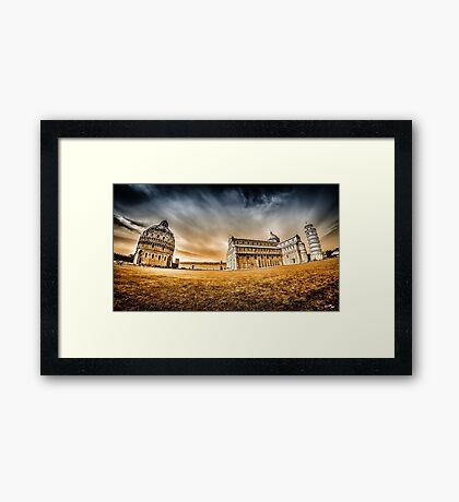 Camposanto Monumentale Framed Print