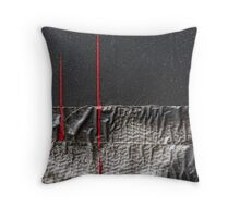 The Fine Lines of Regret Throw Pillow