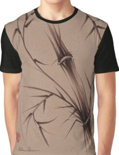 """As One""  Original brush pen sumi-e bamboo drawing/painting Graphic T-Shirt"