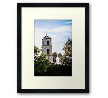 Ojai Post Office Tower Framed Print