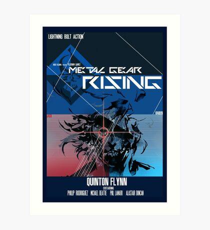 Rising - Metal Gear Solid Art Print