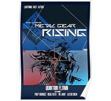 Rising - Metal Gear Solid Poster