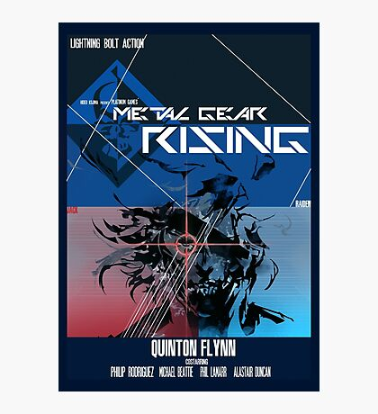 Rising - Metal Gear Solid Photographic Print