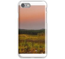 glasshouse mountains iPhone Case/Skin