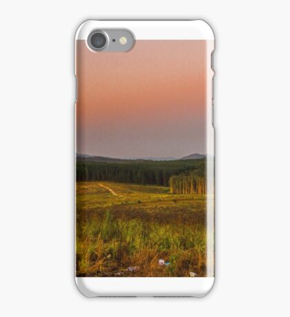 glasshouse mountains iPhone Case/Skin