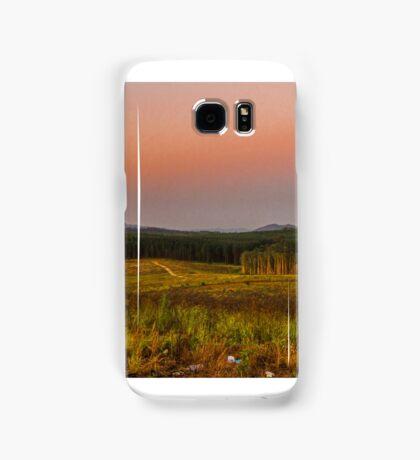 glasshouse mountains Samsung Galaxy Case/Skin