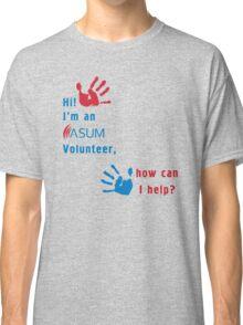 ASUM Volunteer-1 Classic T-Shirt