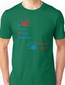 ASUM Volunteer-1 Unisex T-Shirt
