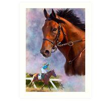 American Pharoah, Triple Crown Winner Art Print
