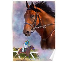 American Pharoah, Triple Crown Winner Poster