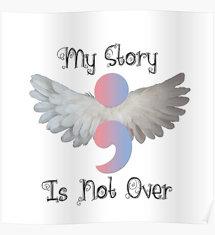 My story isn't over Poster
