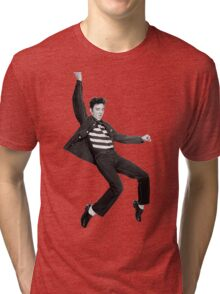 Elvis Falling Tri-blend T-Shirt