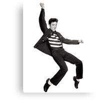 Elvis Falling Canvas Print