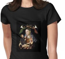 Madonna and Christ Child Womens Fitted T-Shirt