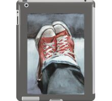 Faded denims and All Star Converse iPad Case/Skin