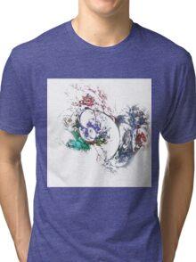 Abstract Vortex Tri-blend T-Shirt