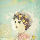 Beautiful Victorian lady by aquaarte