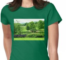 English Countryside - Hyde Hall, Essex Womens Fitted T-Shirt