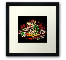 MARIO MADNESS BOWSER Framed Print