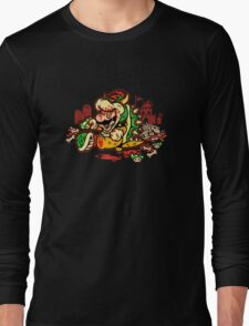 MARIO MADNESS BOWSER Long Sleeve T-Shirt