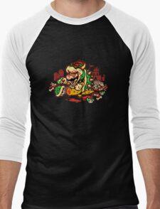 MARIO MADNESS BOWSER Men's Baseball ¾ T-Shirt