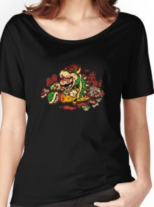 MARIO MADNESS BOWSER Women's Relaxed Fit T-Shirt