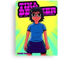 Tina vs. the Universe Canvas Print