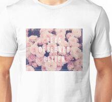 LEXA DESERVED BETTER | Floral Memorial Unisex T-Shirt