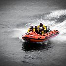 Aberdeen RNLI Going Past The North Boat by Craig  Meheut