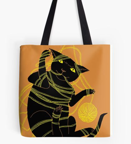 Crafty Cat Meant to do That Tote Bag