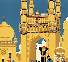 Hyderabad, India by Vintagee