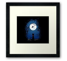 Fly With Your Spirit Framed Print