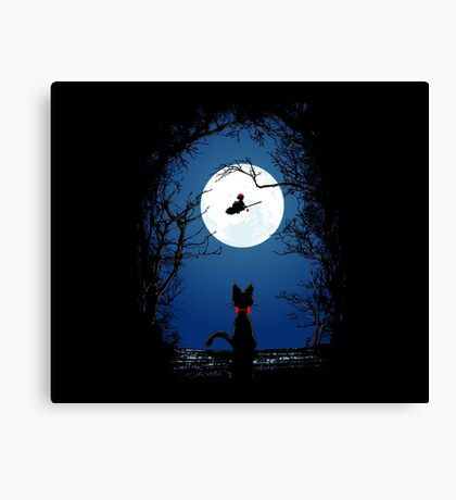 Fly With Your Spirit Canvas Print