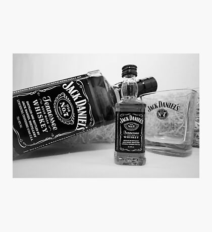 Jack Daniels On The Table Photographic Print