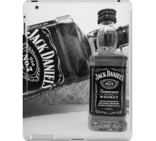 Jack Daniels On The Table iPad Case/Skin