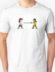 'Get Over Here!'  Fatal Kombat - (Wee-Guys) T-Shirt