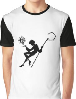 Rise of the Guardians - Jack Frost Snowflake Sillouette Graphic T-Shirt
