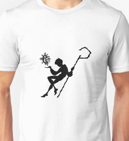 Rise of the Guardians - Jack Frost Snowflake Sillouette Unisex T-Shirt