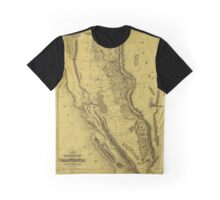 California Gold Region 1851 Graphic T-Shirt