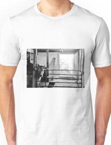 Barnyard Black & White  Unisex T-Shirt