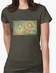 Round The Clock 2 Womens Fitted T-Shirt