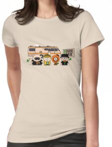 Breaking Park Womens Fitted T-Shirt