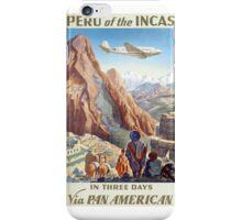 Peru of the Incas iPhone Case/Skin