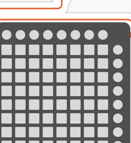 Launchpad S - Iconic Gear Sticker