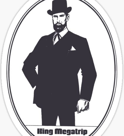 King Megatrip Victorian Sticker