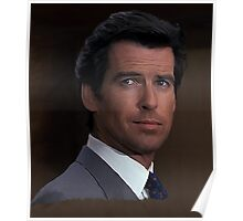 Pierce Brosnan - James Bond 007 Poster