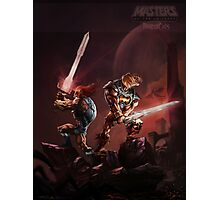Masters of the Universe and Thundercats Photographic Print