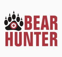 Bear Hunter Red Text by bigbadbear